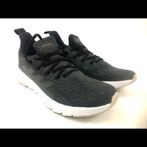 Adidas Asweego Men Black White Running Shoes Sz 9